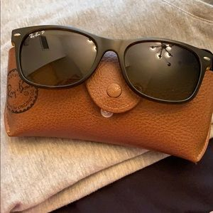 Ray Ban P sunglasses with case